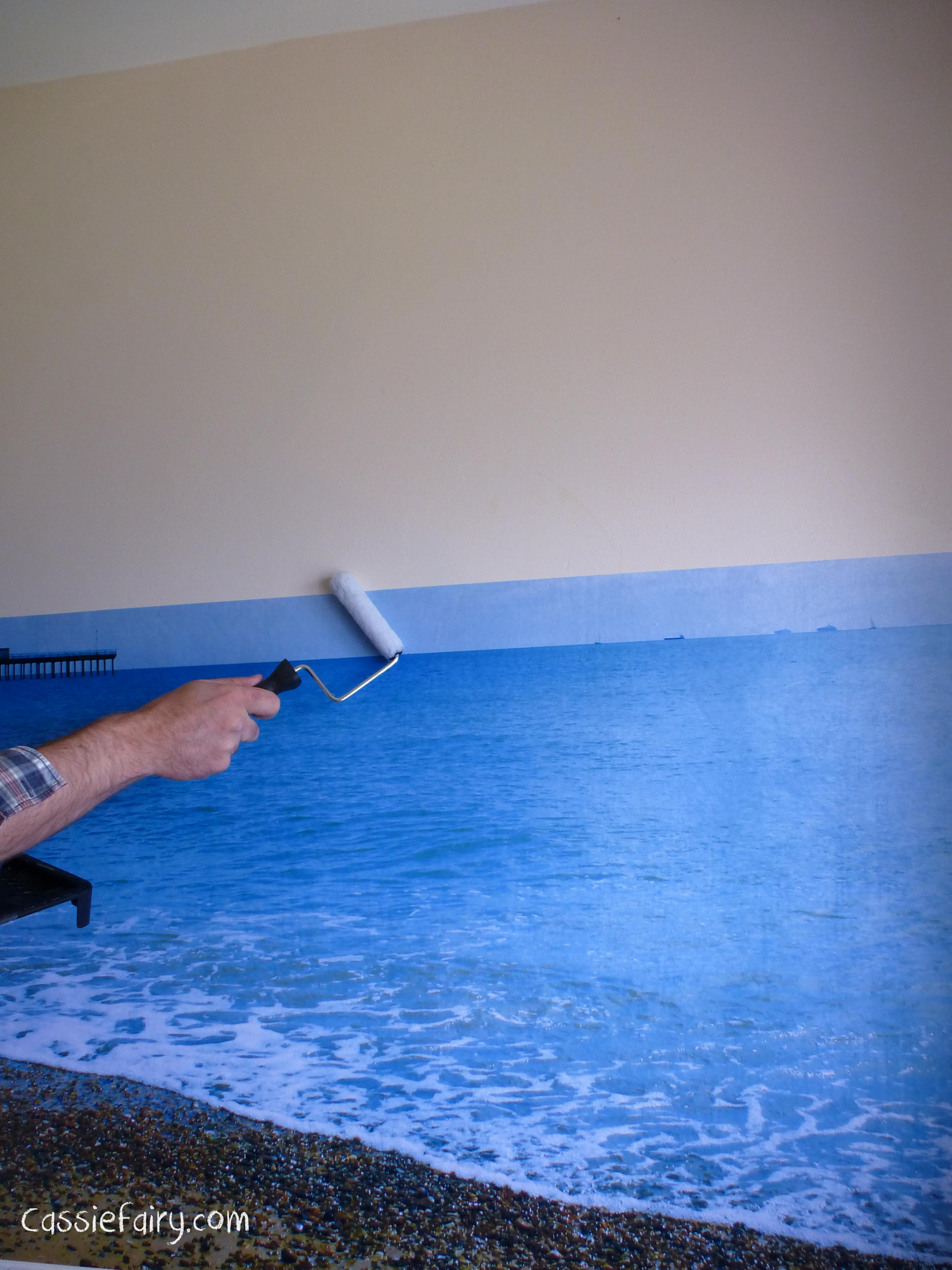 create a custom made photo wall in your home-2