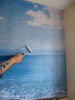 create a custom made photo wall in your home-4