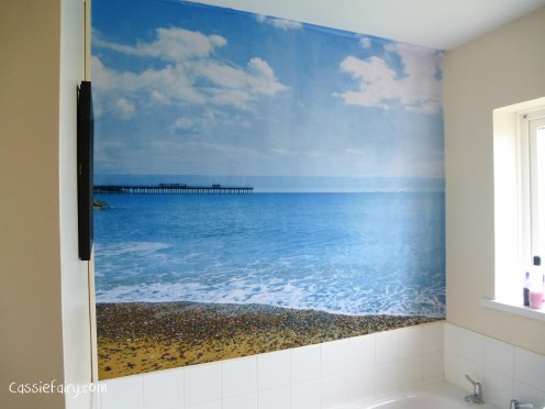 create a custom made photo wall in your home-5