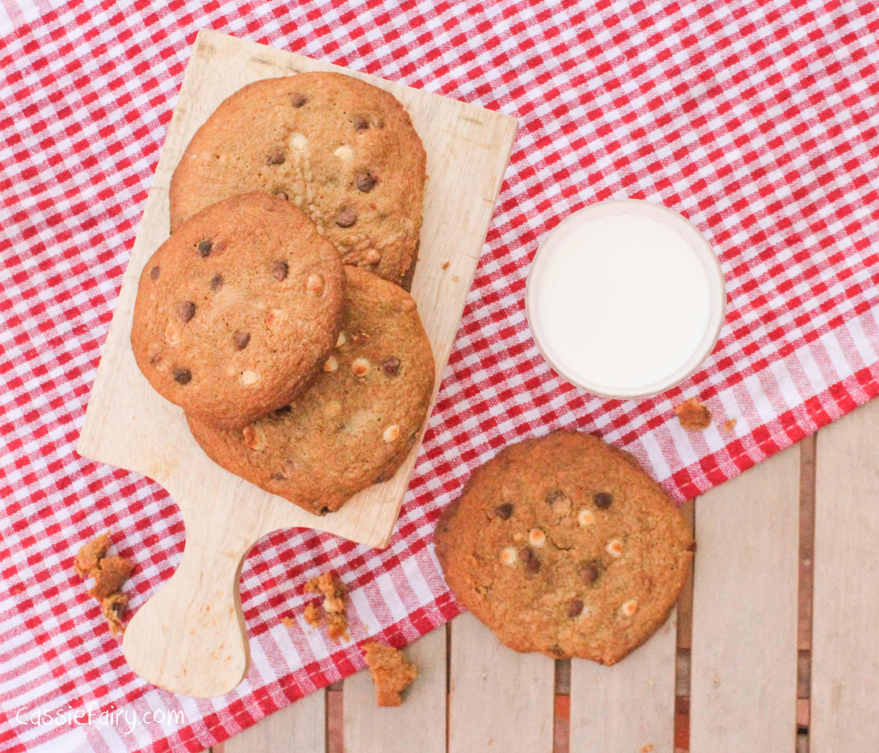 Gooey Double Chocolate Cookies