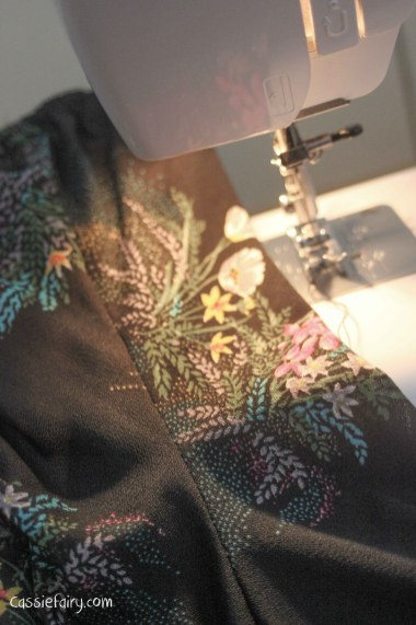 sewing tips for fixing a vintage dress-2