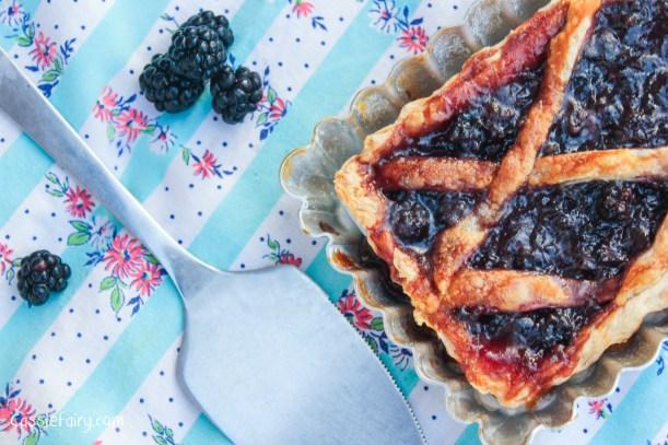 Tasty Blackberry Tart