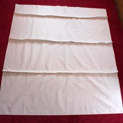 Lined Roman Blind Sewing Project Step 3.4
