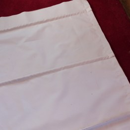 Lined Roman Blind Sewing Project Step 4.4