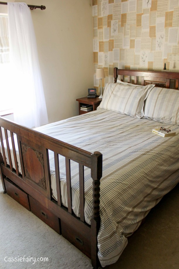 natural textures and colours in this bedroom makeover-2