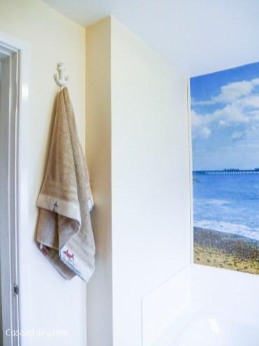 DIY sewing bias binding project for bathroom towels-11