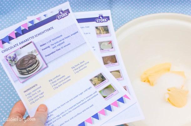 Step by step how to make a Schichttorte cake