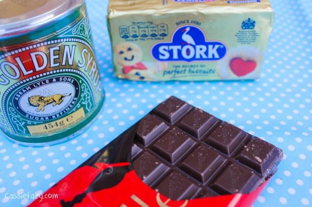 Step by step recipe for chocolate glaze