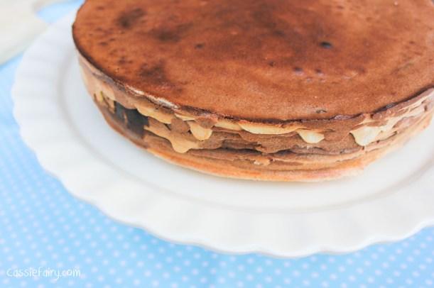 Step by step recipe for chocolate schichttorte