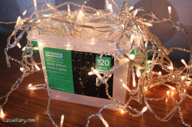 DIY fairy lights kilner jar display for christmas-7