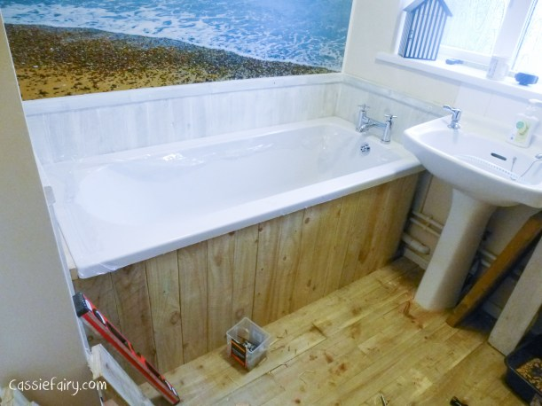 DIY fitting a new bath_
