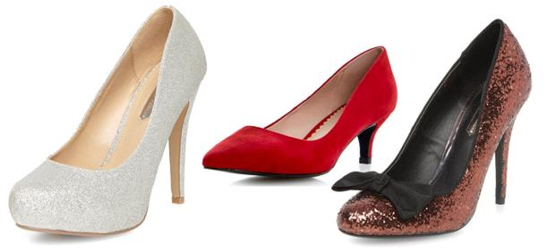 dorothy perkins christmas shoes