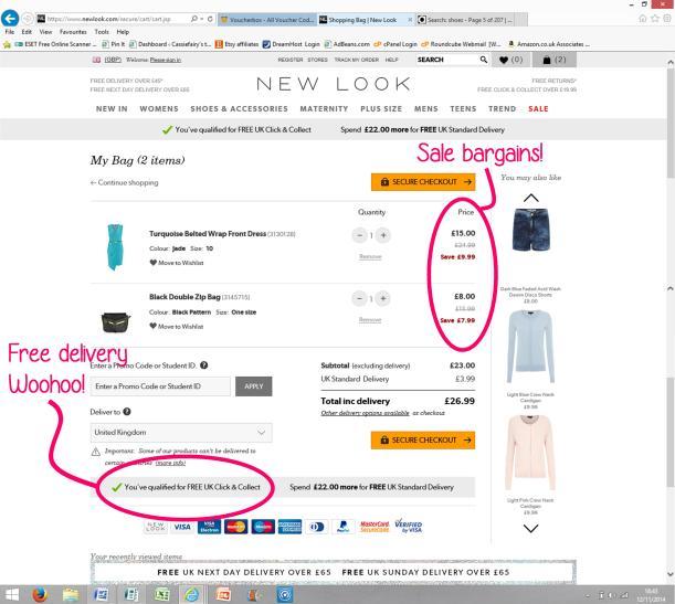 new look sale bargains