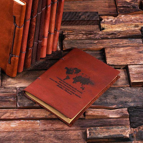 personalised travel journal