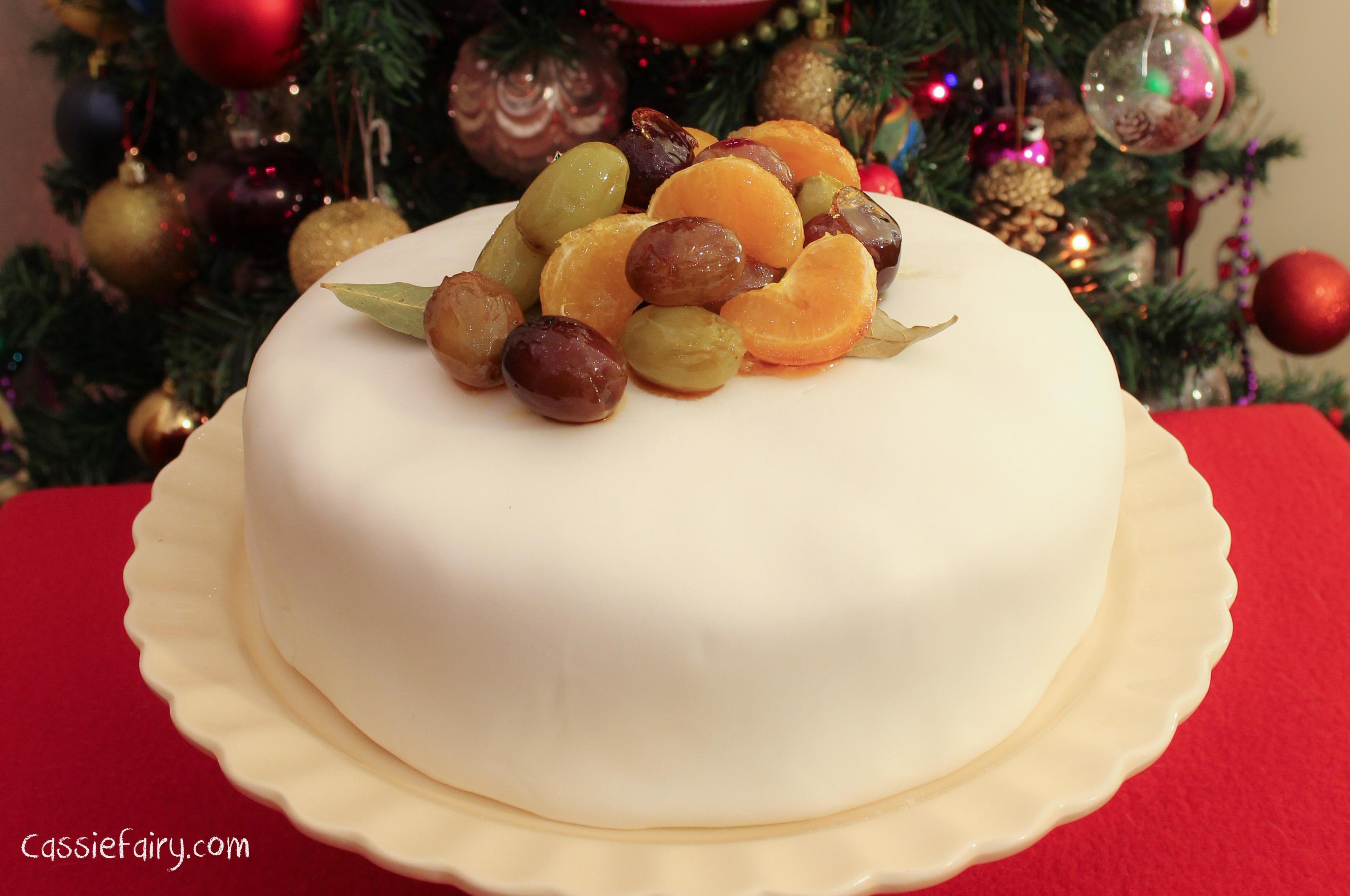 Stork Traditional Christmas Cake Recipe