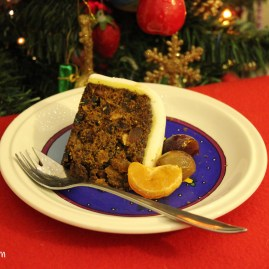 Christmas Cake with a Caribbean Twist