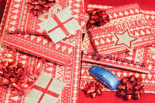DIY christmas festive gift wrapping-2