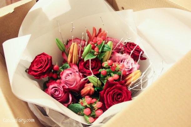 debenhams christmas festive flowers