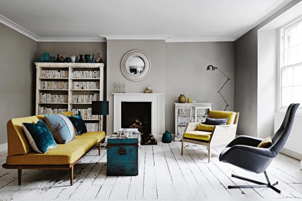 retro modern interior design trend