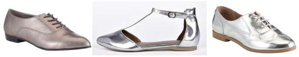 silver shoes sale bargains shopping 2015