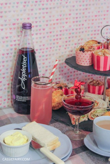 DIY afternoon tea date for Valentines Day or birthday celebration-7