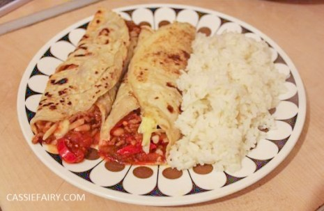 pancake day recipe chilli cheese wraps - Copy