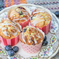 Blueberry & Lemon Muffins