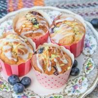 Blueberry & Lemon Muffins