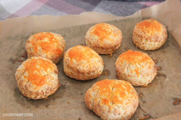 simple cheese and mustard scone recipe for afternoon tea_-5
