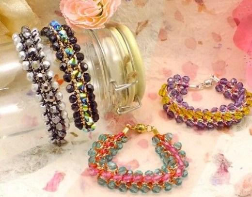 the bead shop bracelet making workshop