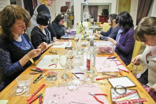 the bead shop manchester workshop