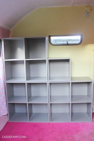vertbaudet craft storage shelving solution for vintage caravan-6