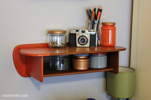 diy desk makeover project - mid-century modern-3