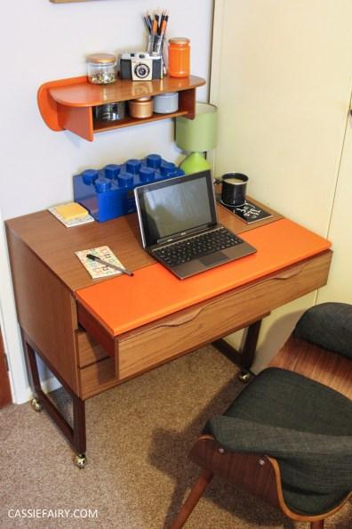 diy desk makeover project - mid-century modern-4