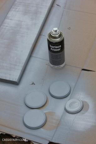 diy furniture makeover project - desk and shelf-10