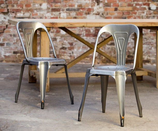 metal chair industrial design multipls