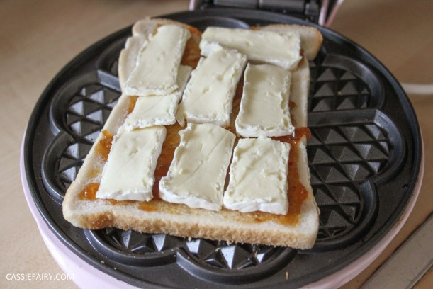 simple cheese toastie garlic bread recipe for waffle maker