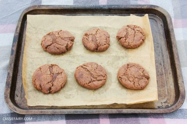 cassiefairy pieday friday blog recipe chocolate smarties cookies diy-7