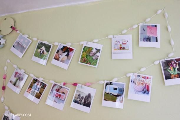 diy polariod photo wall display decoration using polabox-10