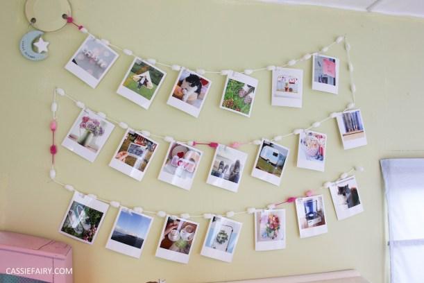 diy polariod photo wall display decoration using polabox-21
