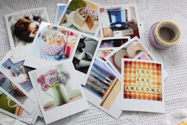 diy polariod photo wall display decoration using polabox-4
