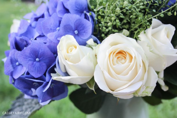 flower bouquet inspiration blue hydrangea and rose_-10