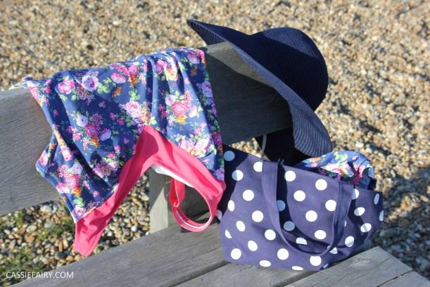 DIY design your own swimwear floral tankini-4