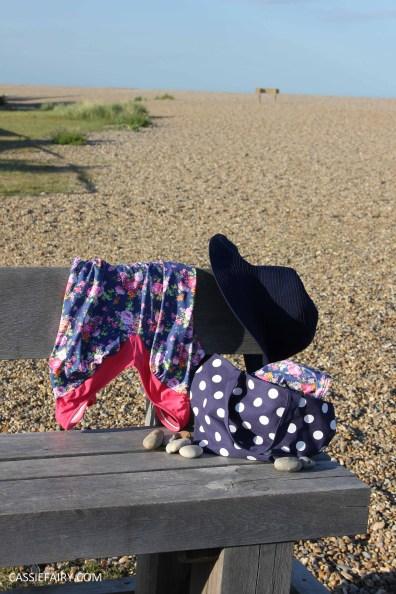 DIY design your own swimwear floral tankini-5