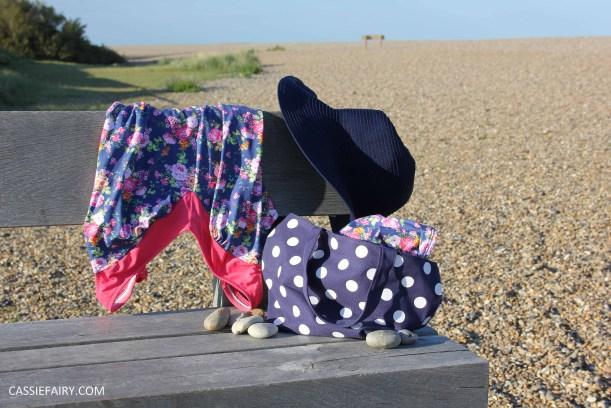 DIY design your own swimwear floral tankini-6