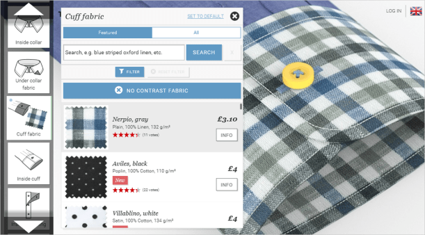 design your own custom made shirt online