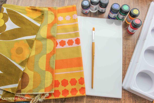 diy tile painting pattern design