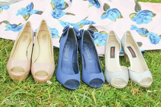 tuesday shoesday floral dress and shoe ideas for a summer wedding-5