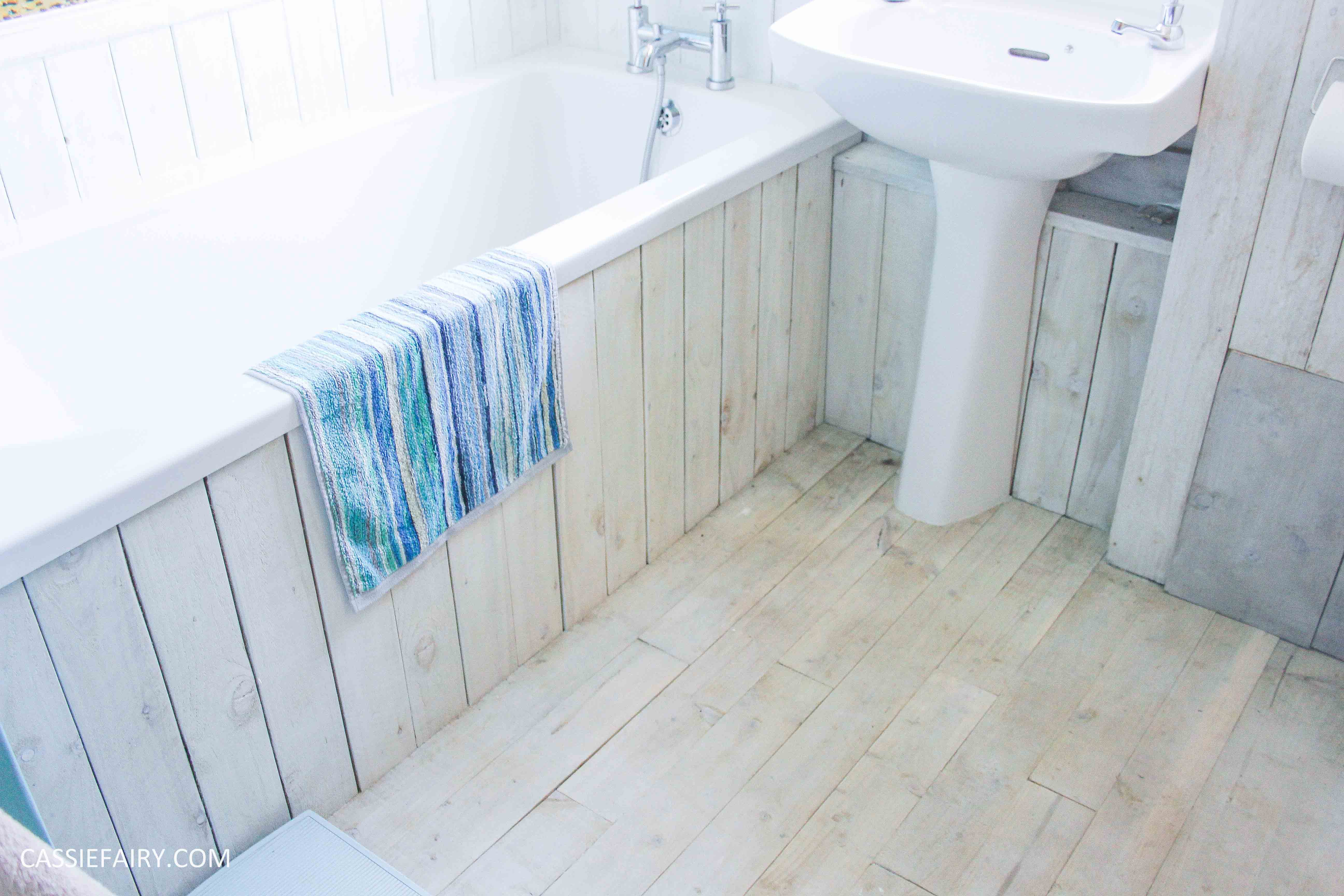... Diy Beach Hut Bathroom Makeover Project   Low Budget Renovation 16