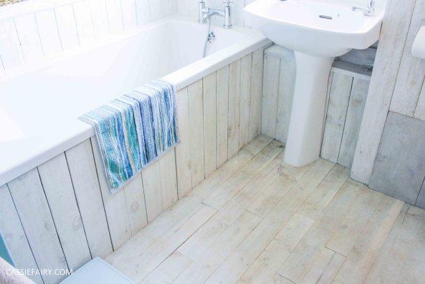 diy beach hut bathroom makeover project - low budget renovation-16
